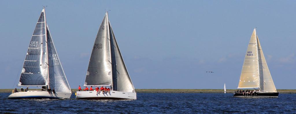 Schnelle Yachten beim NRW-Cup