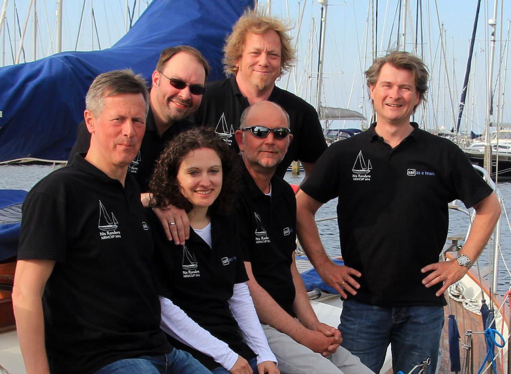 Die Crew der Nis Randers beim NRW CUP 2014