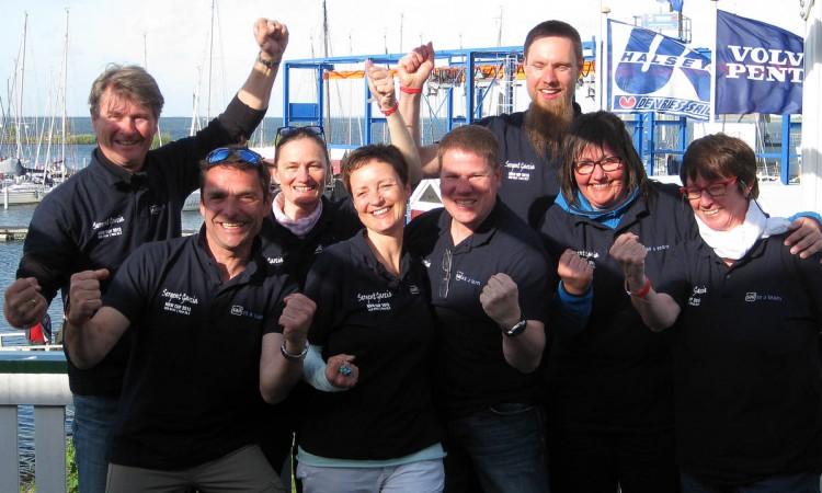 Die Sail as a Team Crew beim NRW CUP 2015