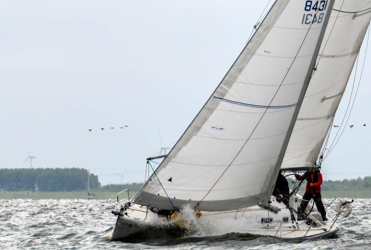 In Action beim NRW CUP 2015