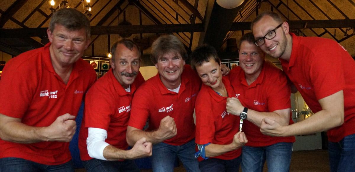 Die Crew bei der Pott-Regatta 2015