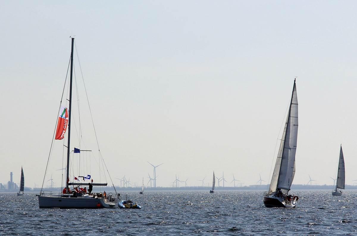 Startschiff NRW CUP Regatta 2016