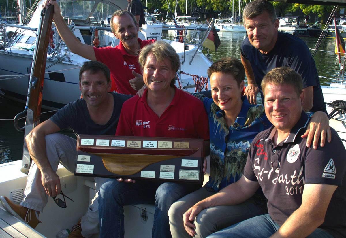 Pott-Regatta 2016: First Ship Home ORC2 vom letzten Jahr