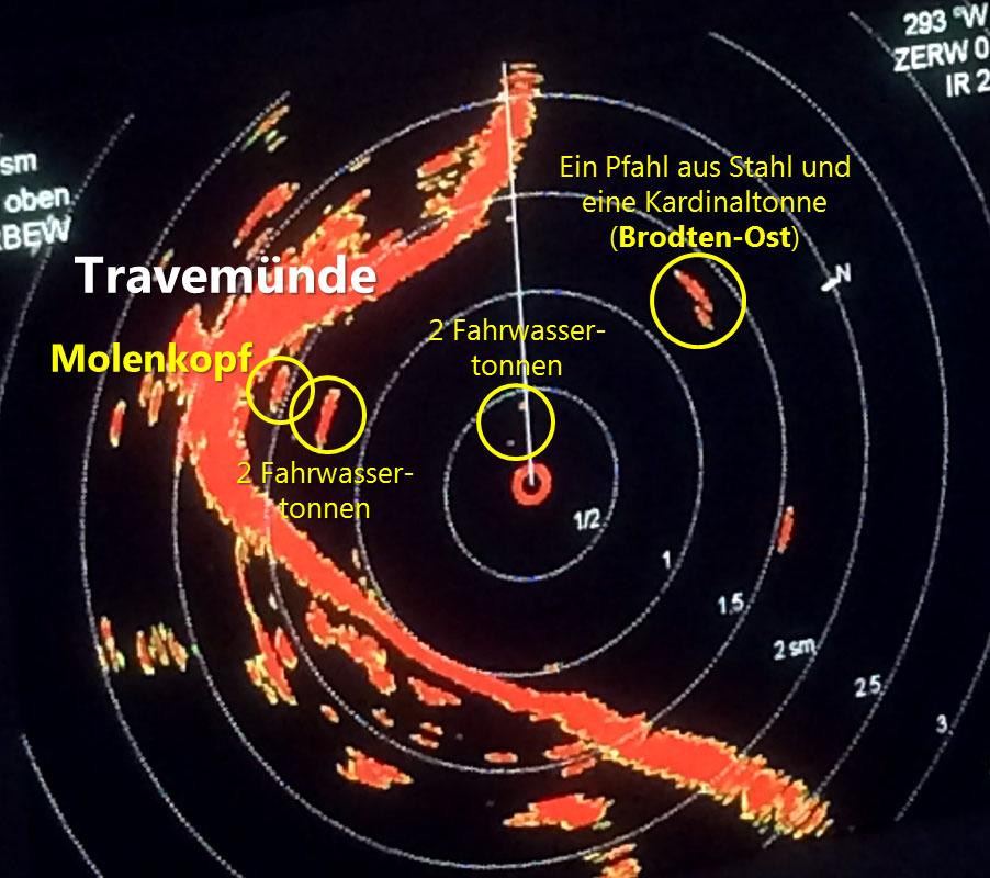 Eine neue Herausforderung: Radarseitenpeilung in der Bucht von Travemünde